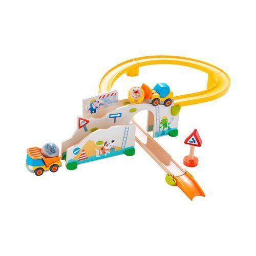 HABA Kugelbahn Kullerbü Baustelle Murmelbahn NEU bunt