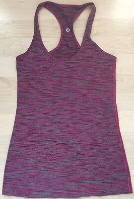 f4fe4db2535 LULULEMON CRB COOL RACERBACK Tank Top size 8 Reversible Wee Are From ...