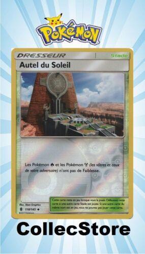 ☺ Carte Pokémon Autel du Soleil REVERSE 118//145 VF NEUVE SL2 Gardiens Ascendants
