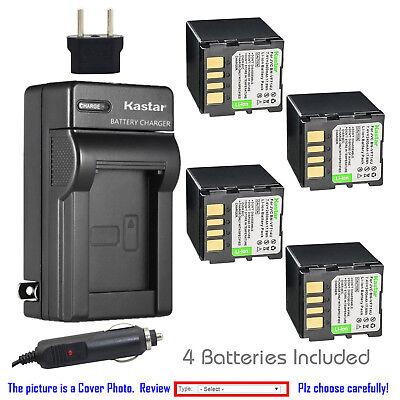 Battery Charger for JVC GR-D390EK GR-D395EK GR-D395EX GR-D395EZ MiniDV Camcorder