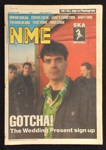 NME 14 January 1989 Wedding Present Duran Duran Talking Heads Ska Revival