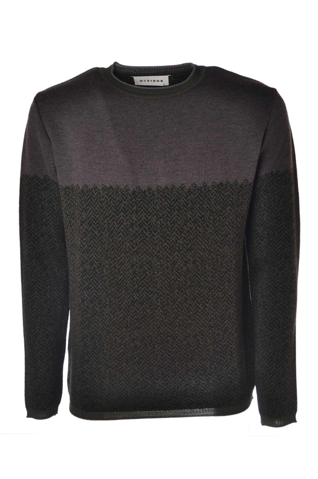 Obvious Basic  -  Sweaters - Male - Grau - 4383225A185525