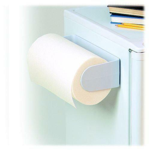 Magnetic Paper Towel Holder White