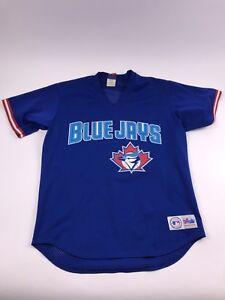 d3e30f8d8 Majestic Vintage 90 s Toronto Blue Jays Mesh Jersey Mens Large ...