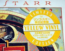 "Ringo STARR Time After Tim +1 JAPAN 12"" YELLOW 180 Gram VINYL Record NEW BEATLES"