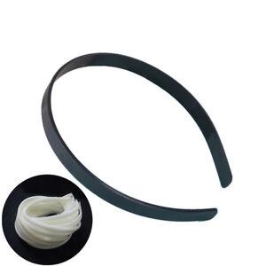 10pcs-12mm-Blank-Plain-Plastic-Headbands-DIY-Hair-Band-Accessory-NKQ