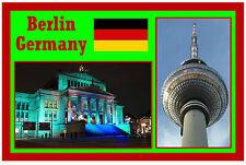 BERLIN, GERMANY - SOUVENIR FRIDGE MAGNET - BRAND NEW -  NICE LITTLE GIFT