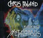 Return To Metalopolis - Chris Poland (2004, CD NUEVO)