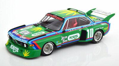 1:18 Minichamps BMW 3.5 CSL Gruppe 5 1976 Schnitzer Quester #12 NEW