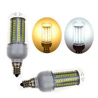 E12 15W High Power LED Corn Light Bulb Lamp US CA Base AC 110V Warm Cool White