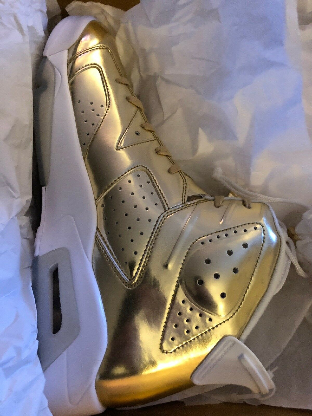 Air Jordan 6 Retro P1nnacle gold New