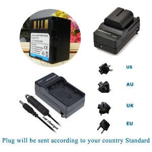 Battery-PACK-Charger-for-JVC-BN-VF707-BNVF707-BN-VF707U-BNVF707U-Camcorder-NEW