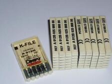 10x6 Stück Dental Maillefer K-File A012B 25mm 008 Dentsply Maillefer Endo Feile