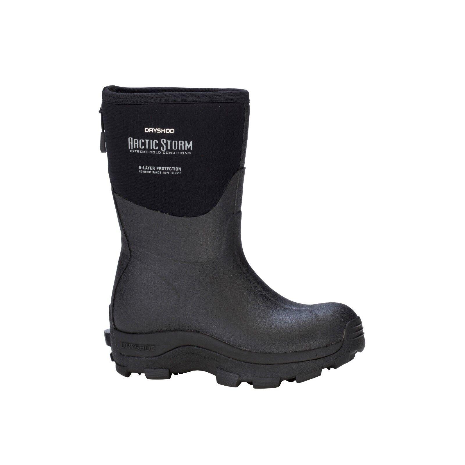 Dryshod Arctic Storm Women's Hi Hi Hi Black MID All Sizes Muck Style ARS-WH-BK 4d4c47
