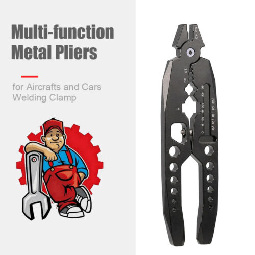 RC Car Model Metal Clamp Multi-function Shock Absorber Pliers Ball Head G9L9