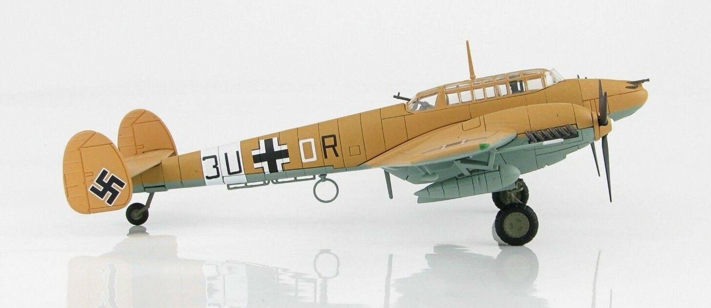 Hobby - meister ha1815, bf 110e-2 trop 3u + oder, 7.   zg 26, libyen, 1942