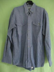 1b632eaf11 Chemise Lacoste Bleu Jeans Devanlay Coton Homme Manche Longue - 38 ...