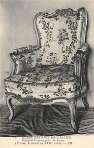 Postcard-Arts-Decorative-Chair-Furniture-Bergere-XVIII-Edit-ND-407