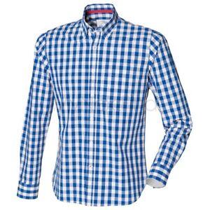 Front-Row-Carreaux-Chemise-en-coton