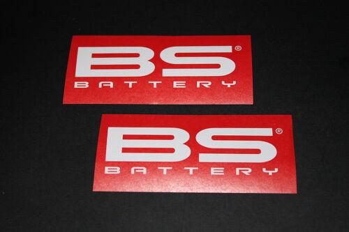 #406 BS Battery Batterie Aufkleber Sticker Decal Autocollant Kleber Bapperl