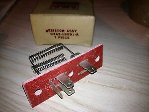 Image is loading 1962-Ford-Galaxie-NOS-Heater-Box-Resistor-Heater-