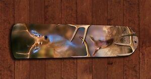Deer Bow Hunting Hunter Antler Ceiling Fan 5 Blades Man