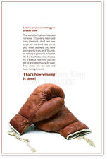 BOXING QUOTE ART PRINT PHOTO POSTER GIFT SPORT FIGHTING MOTIVATION MOTIVATIONAL