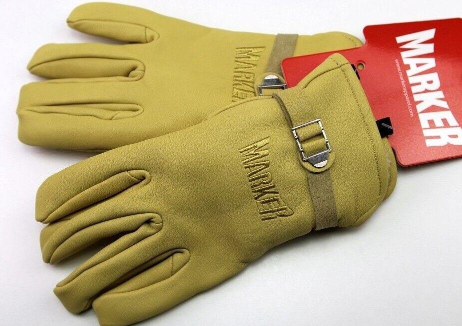 Marker Gloves 85 Größe all Größes   Beste Leder quality WINTER   100% Original