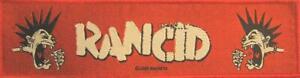 RANCID-SUPERSTRIP-PATCH-AUFNAHER-5-INDESTRUCTIBLE-19x5cm-FLICKEN-ABZEICHEN