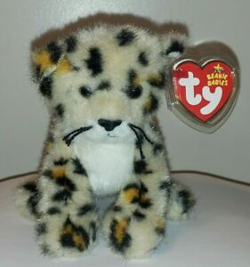 Ty Beanie Baby - SPOTTER the Leopard (6 Inch) MINT with MINT TAGS