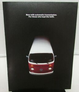 1973-Volkswagen-Dealer-Sales-Brochure-Station-Wagon-Bus-Campmobile-VW-Rare