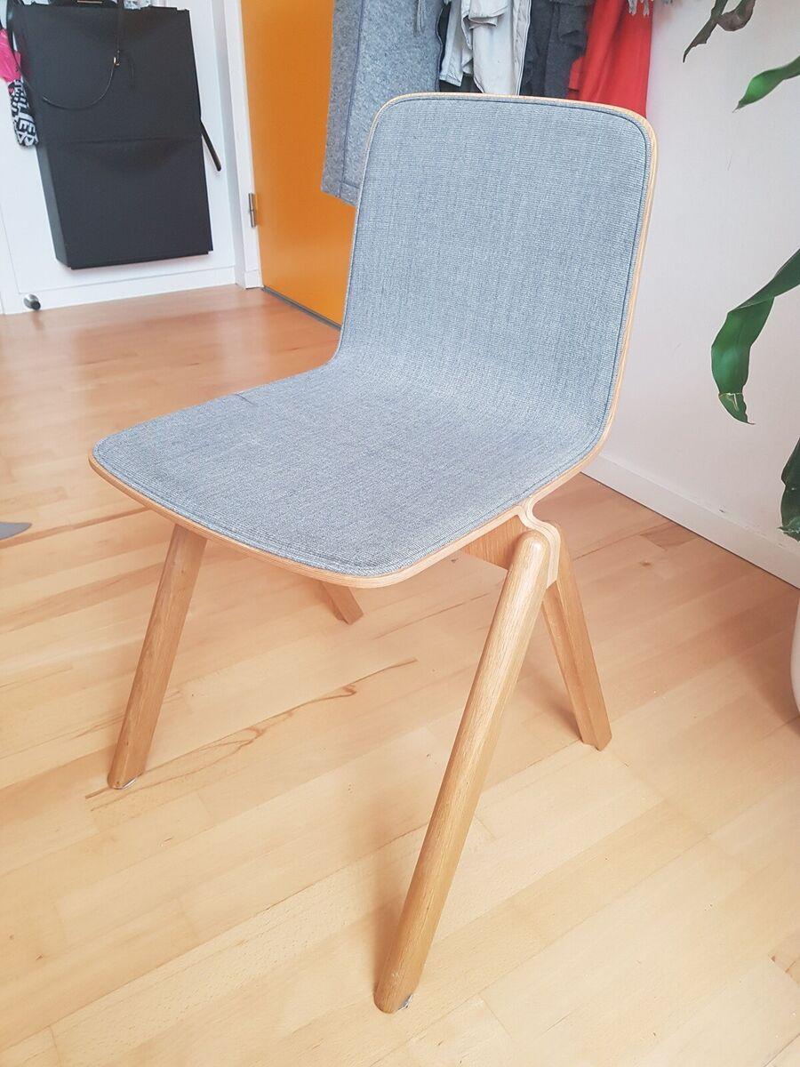 Spisebordsstol, Hay, 6 stk Hay CopenhagueCPH stole med g