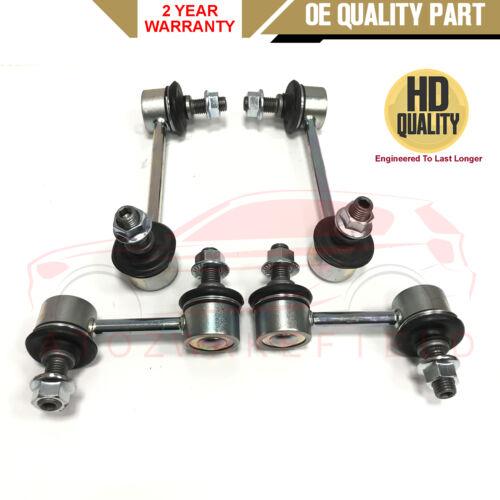 Para HONDA ACCORD 2003-2008 Delantero Trasero Estabilizador anti roll Bar insertes vínculos HD