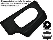 BLACK STICH DASH DASHBOARD HEADLIGHT SWITCH TRIM SKIN COVER FITS BMW Z4 E85 E86