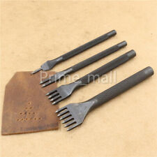Solid Hole Punch Stitching Prong Chisel Tool for Diamond Leather craft 3// 4// 5mm