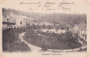 CPA-51-VERZENAY-Jardin-Public-carte-Precurseur