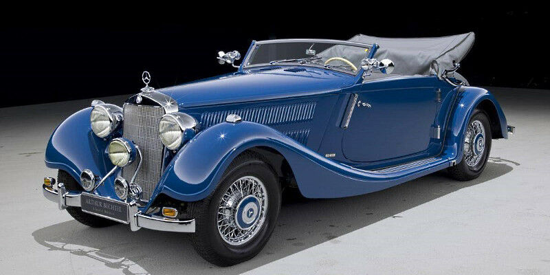 EVRAT219 Mercedes-Benz Type 320 Cabriolet A version ougreene