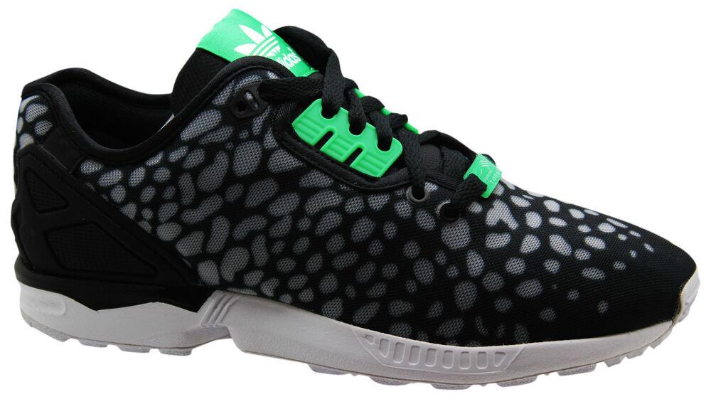 ADIDAS ORIGINALS ZX FLUX DECON Baskets pour femme noir chaussures à lacets
