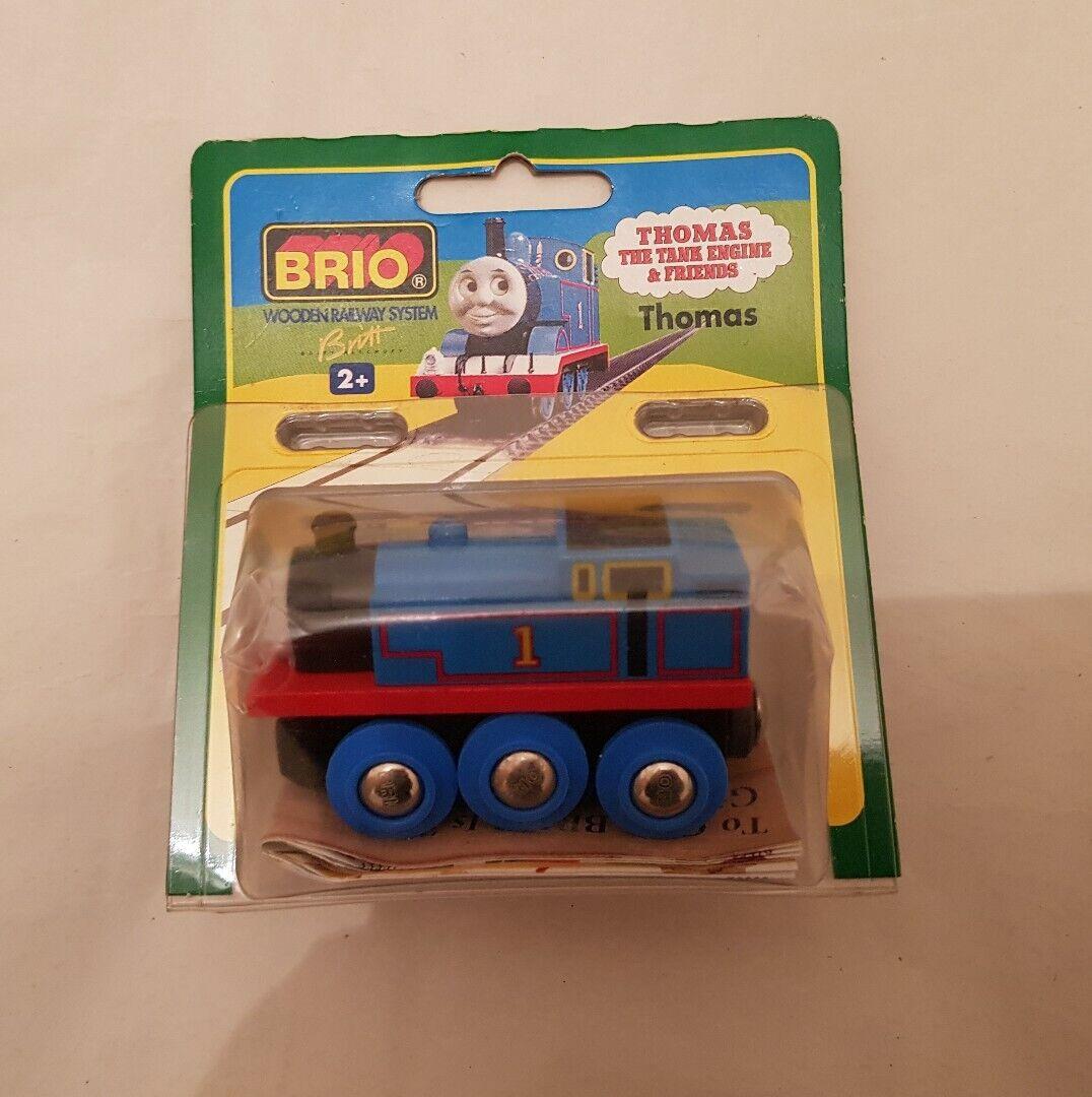 Thomas The Tank Engine & Friends BRIO THOMAS WOOD TRAIN WOODEN NEW IN BOX