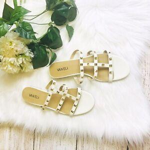 Vaneli Studded Deers Sandals, Women's