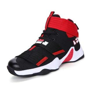 new concept 5b0e5 2a125 Image is loading Mens-Basketball-Shoes-Boots-Lebron-11-Sports-Sneakers-