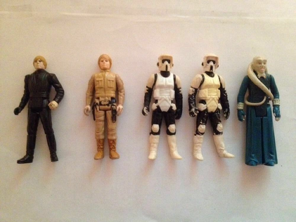 Star - wars - figuren 1970's-1980 ist 4 cm