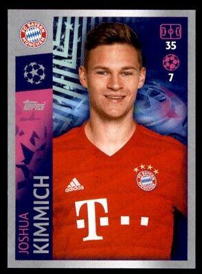 Topps match coronó Champions League mapa nº 90 kimmich//alaba FC Bayern Munich
