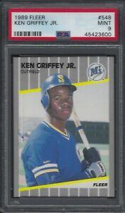 1989-Fleer-Ken-Griffey-Jr-ROOKIE-RC-548-PSA-9-MINT
