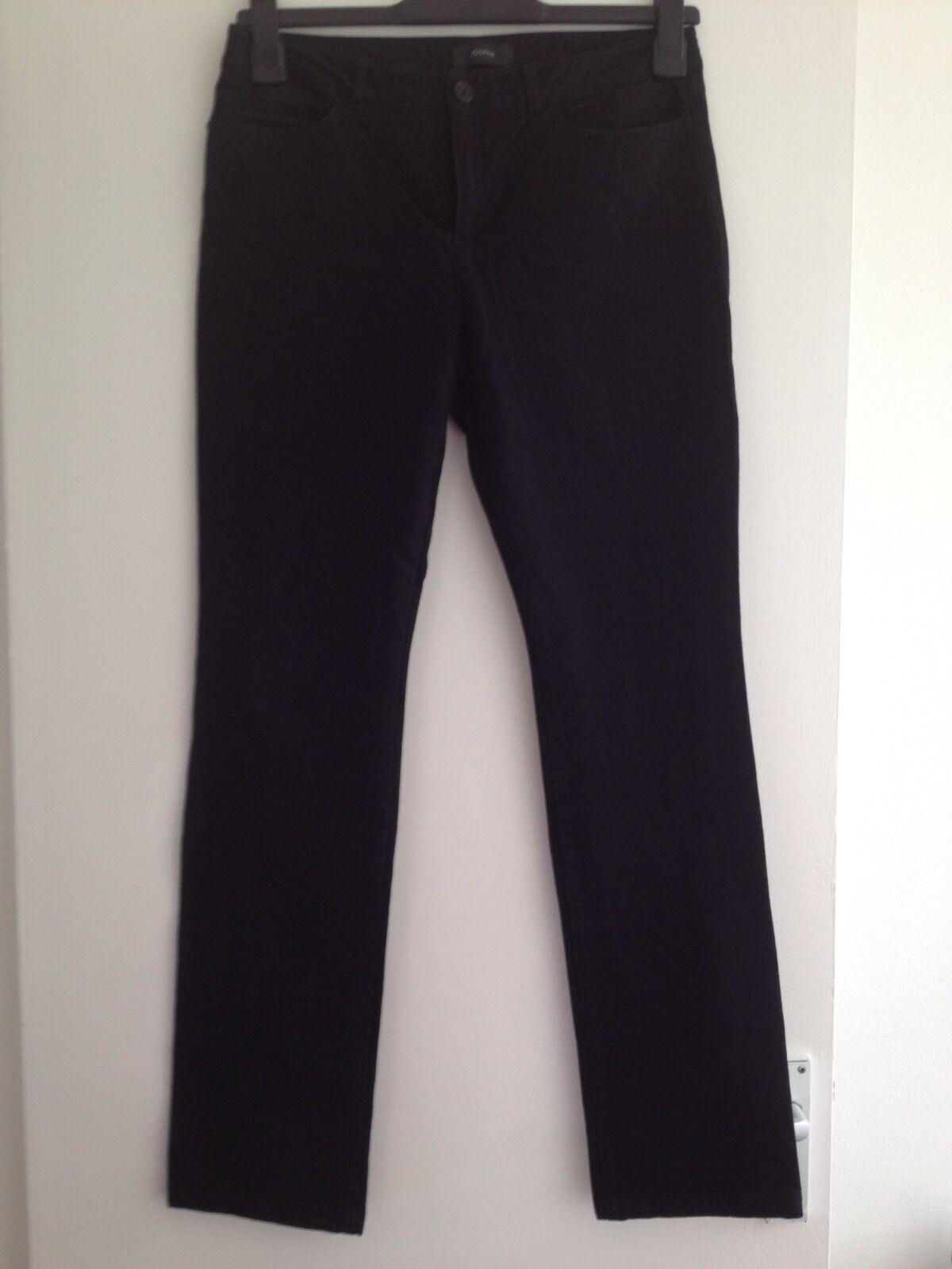 wholesale dealer 12c70 e2647 marca Donna Nero Joseph Jeans Stretch-Taglia 40, GRATIS ...