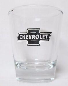 034-Chevrolet-034-Logo-on-Clear-Shot-Glass