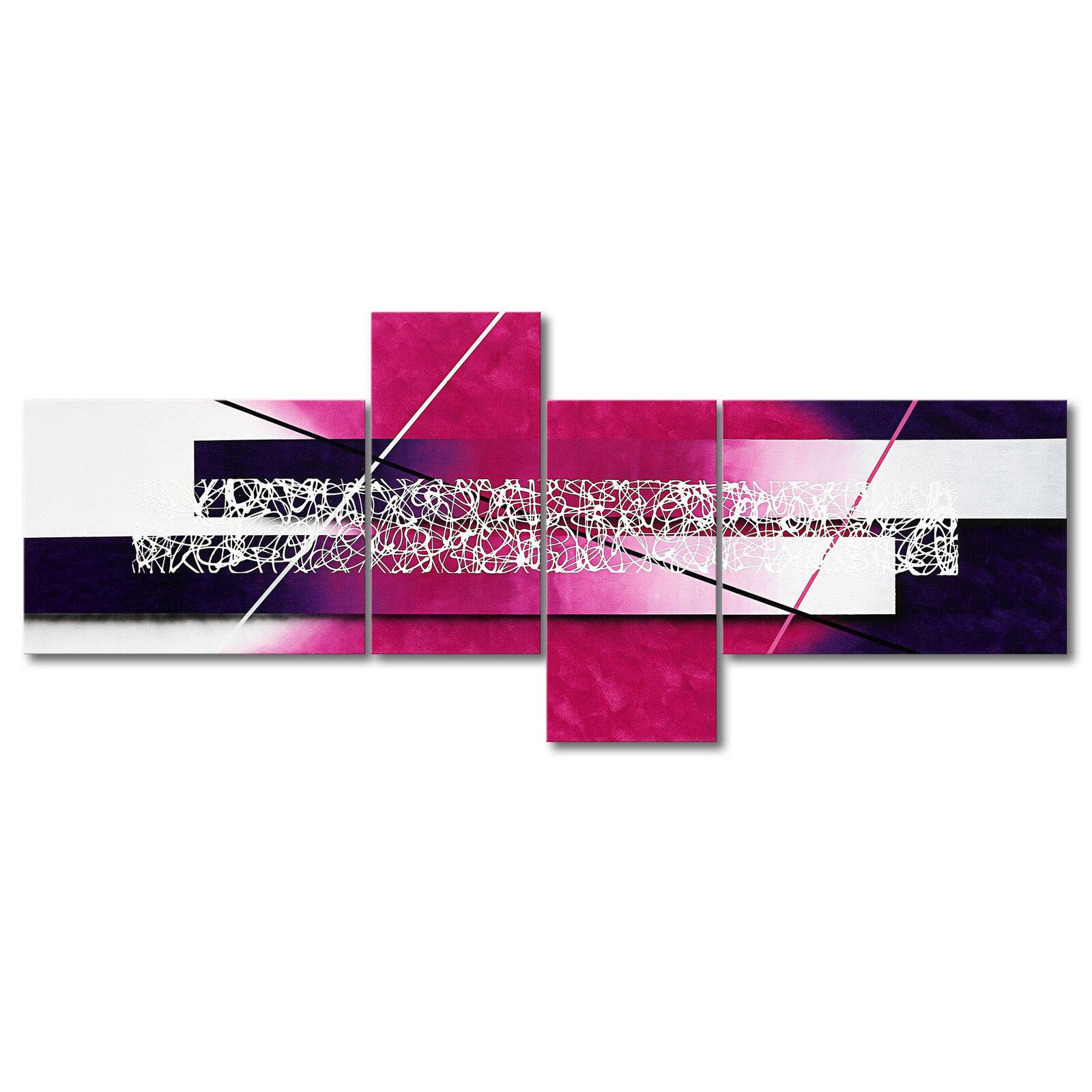 100% handgemaltes Bild - Das XXL-Bild  Connection