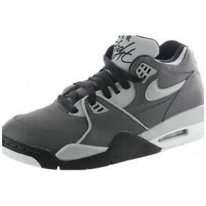 e4f1672ab5f9d 318003-005 Nike Air Flight  89 (GS) Dark Grey Grey-Black-White New ...