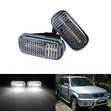 2x For Jdm Honda Civic Jazz Accord Canbus Led Side Marker Fender Light Clear Len Fits Rsx
