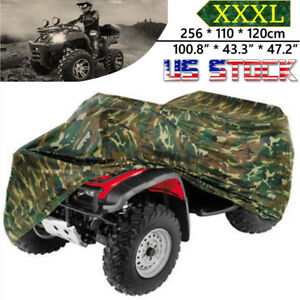 Xxxl Atv Cover Waterproof Protector For Polaris Honda Yamaha Can Am Suzuki Camo Ebay